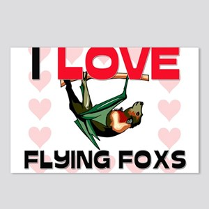 I Love Flying Foxs Postcards (Package of 8)