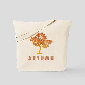 Autumn Fall Foliage Tree Reusable Tote Bag