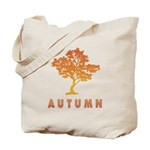 Autumn Fall Foliage Tree Reusable Tote Bag