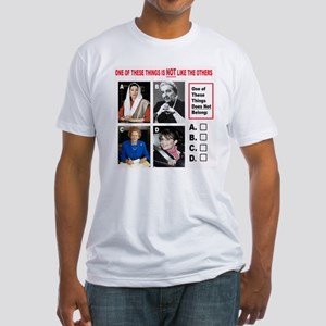 One of These Don't Belong Fitted T-Shirt