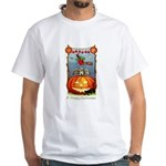 Happy Halloween Witch White T-Shirt