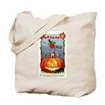 Happy Halloween Witch Tote Bag