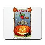 Happy Halloween Witch Mousepad
