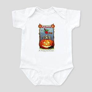 Happy Halloween Witch Infant Bodysuit