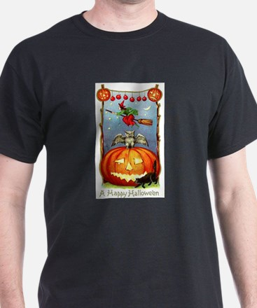 Happy Halloween Witch T-Shirt