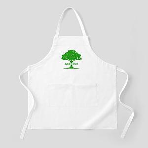 Save a Tree BBQ Apron