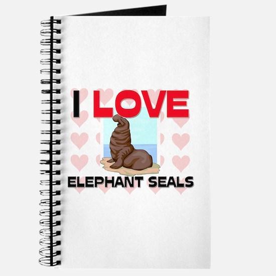 I Love Elephant Seals Journal