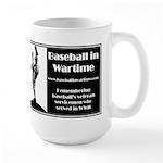 Baseball in Wartime Large Mug