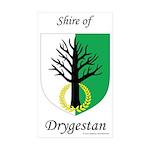 Drygestan Rectangle Sticker 50 pk)