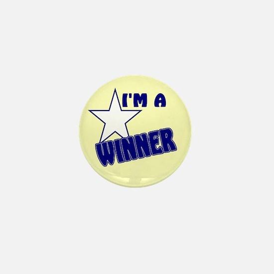 I'm A Winner Mini Button