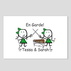 Sabre - Tessa & Sarah Postcards (Package of 8)