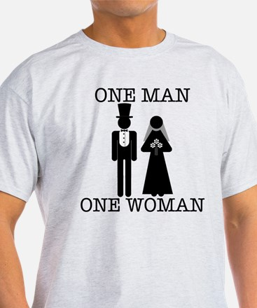 Cute Marriage man and woman T-Shirt