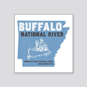 Buffalo River Arkansas Canoeing Sticker