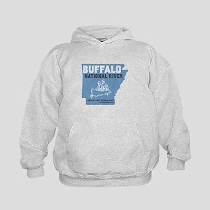 Buffalo River Arkansas Canoeing Sweatshirt