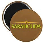 Sarahcuda Brown Magnet