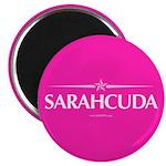 Sarahcuda in Hot Pink Magnet