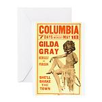 Gilda Gray Greeting Card