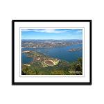 Framed Panel Print - Buckingham Point