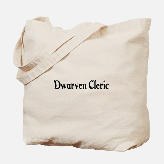 Dwarven Cleric Tote Bag