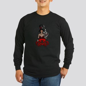 Fantasy lady with horse Long Sleeve T-Shirt