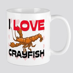 I Love Crayfish Mug
