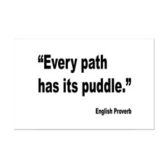 Every Path English Proverb Posters