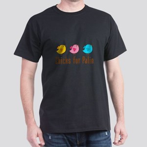 Chicks for Palin Brown Dark T-Shirt