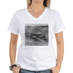 Chinese Fishing Women's V-Neck T-Shirt