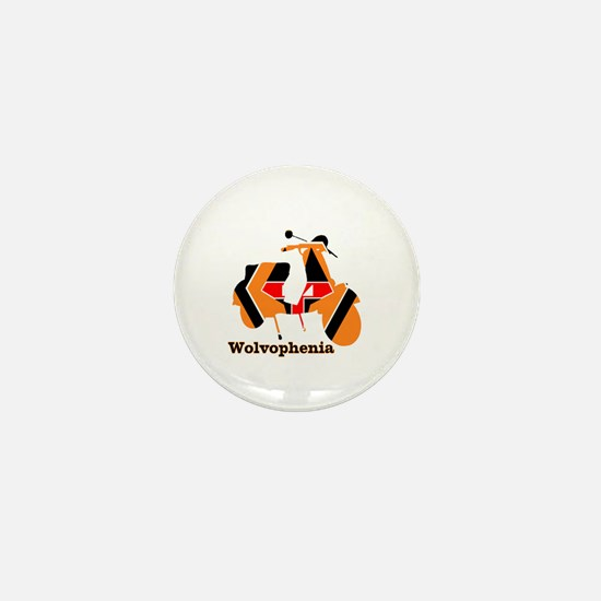WOLVOPHENIA WOLVES Mini Button