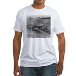 Chinese Fishing Fitted T-Shirt