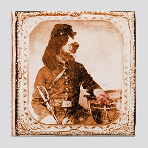 Springer Spaniel TWITCH Tile Coaster