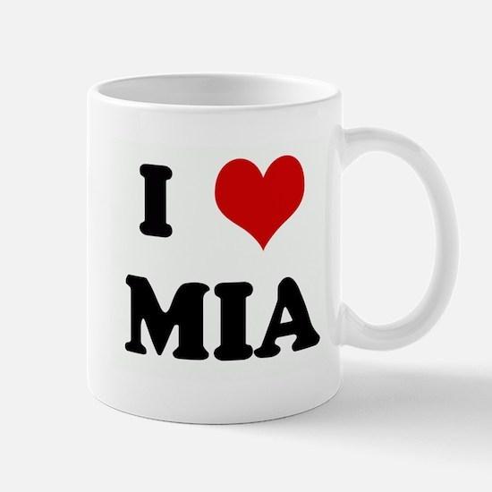 I Love MIA Mug