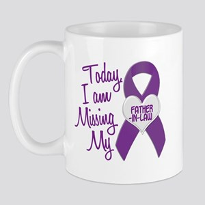 Missing My Father-In-Law 1 PURPLE Mug