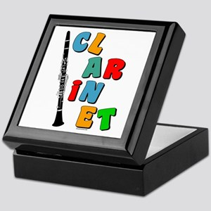 Colorful Clarinet Keepsake Box