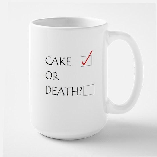 Cake or Death Mugs