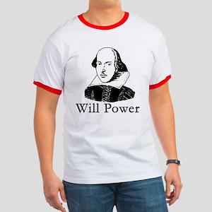 William Shakespeare WILL POWER Ringer T