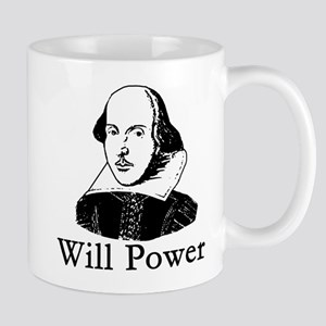 William Shakespeare WILL POWER Mug