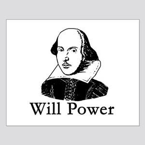 William Shakespeare WILL POWER Small Poster