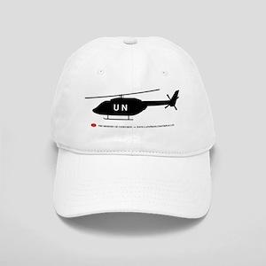 Black UN Helicopter Cap
