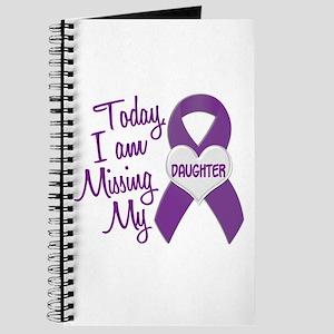 Missing My Daughter 1 PURPLE Journal