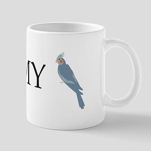 I Love My Cockatiel (female) Mug