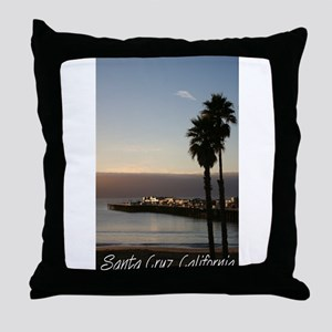 Santa Cruz, California Throw Pillow