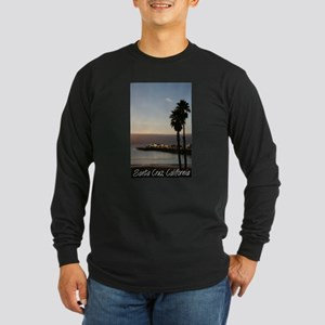 Santa Cruz, California Long Sleeve Dark T-Shirt