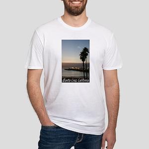 Santa Cruz, California Fitted T-Shirt