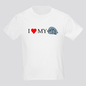 I Love My Pot Bellied Pig 2 Kids Light T-Shirt