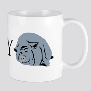 I Love My Pot Bellied Pig 2 Mug