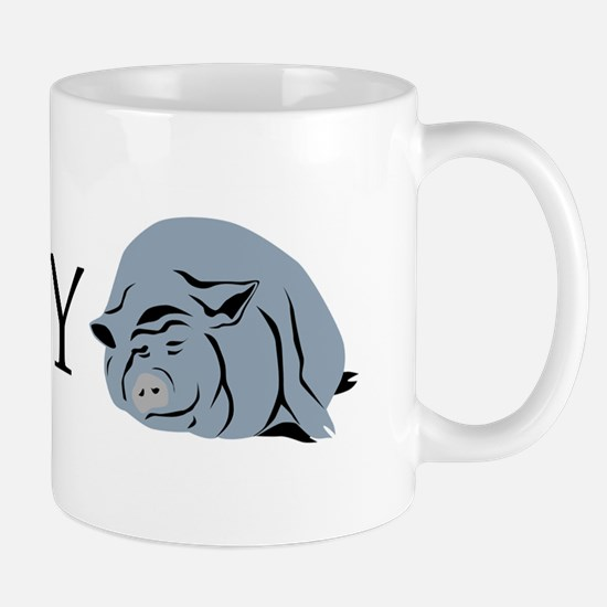 I Love My Pot Bellied Pig 2 Mug