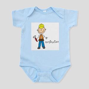 Stick Figure Soccer Infant Bodysuit