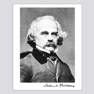 Nathaniel Hawthorne Small Poster