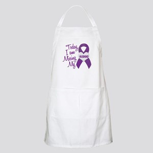 Missing My Husband 1 PURPLE BBQ Apron